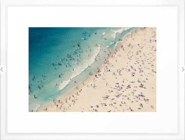 """Beach love V Art Print - 20"""" x 26"""" - Society6"""