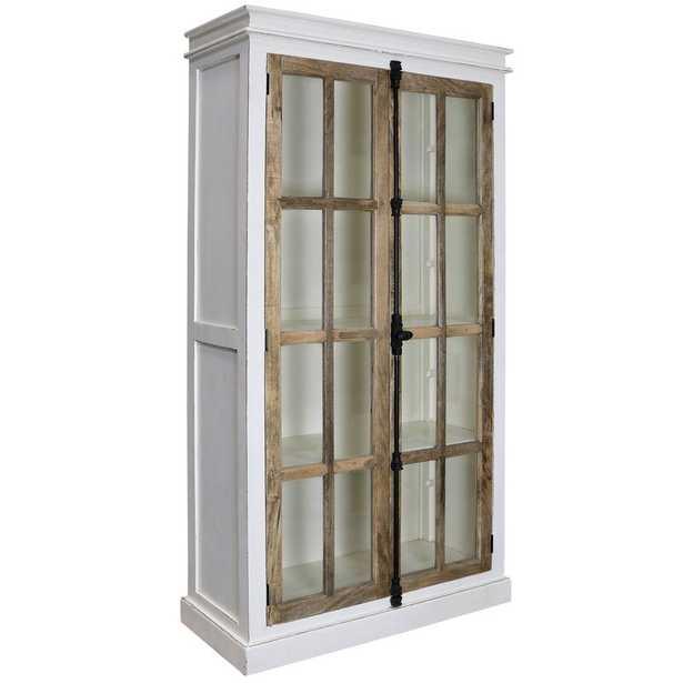 Faunsdale Curio 2 Door Accent Cabinet - Wayfair