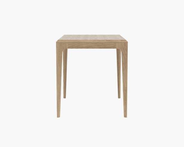 Linden Side Table - White Wash Oak - Interior Define