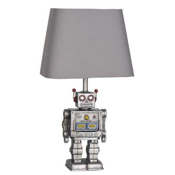 """Ronning 16.5"""" Silver Table Lamp - Wayfair"""
