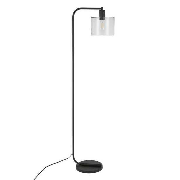 Enrique Arched Floor Lamp, Seeded Glass - AllModern