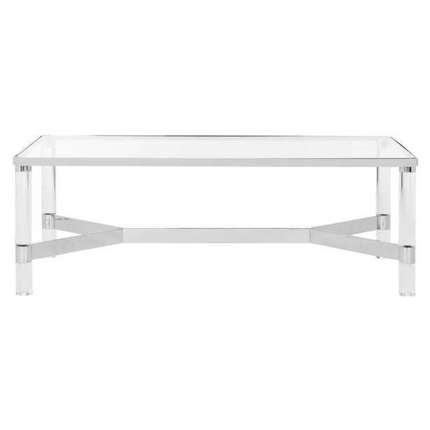 Luca Coffee Table -Silver - Wayfair