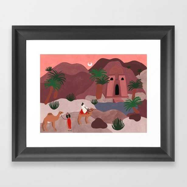 Oasis Framed Art Print - Society6