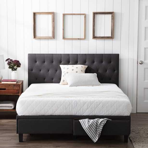 Gabouray Upholstered Low Profile Storage Platform Bed - Wayfair