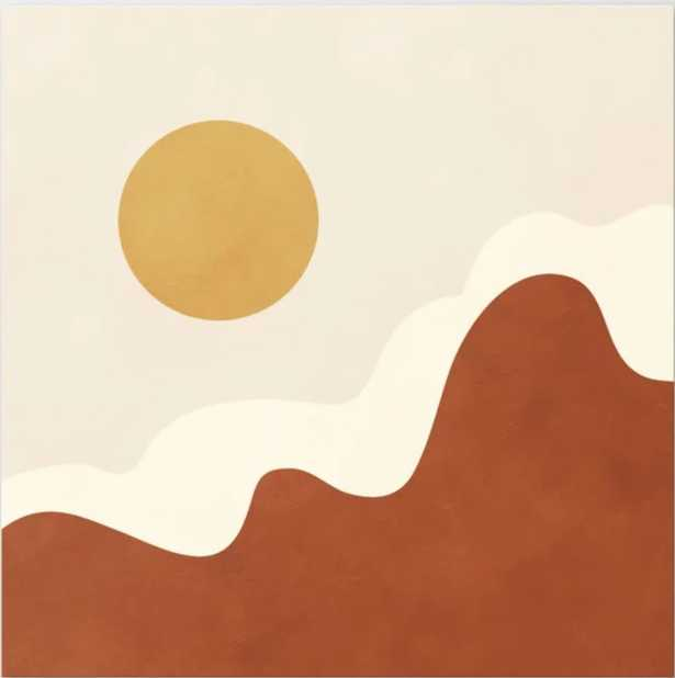 "abstract minimal 40 Canvas Print, 24"" X 24"" - Society6"