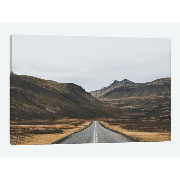 'Icelandic Country Road'  by Luke Anthony Gram Graphic Art Print on Wrapped Canvas  'Icelandic Country Road'  by Luke Anthony Gram Graphic Art Print on Wrapped Canvas  'Icelandic Country Road'  by Luke Anthony Gram G - AllModern