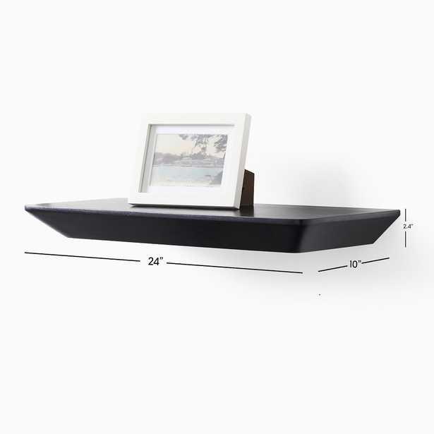 Slim Floating Collection Acorn 2' Shelf - West Elm
