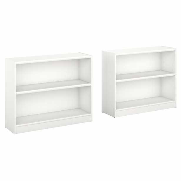 Morrell Standard Bookcase, Set of 2 - Wayfair