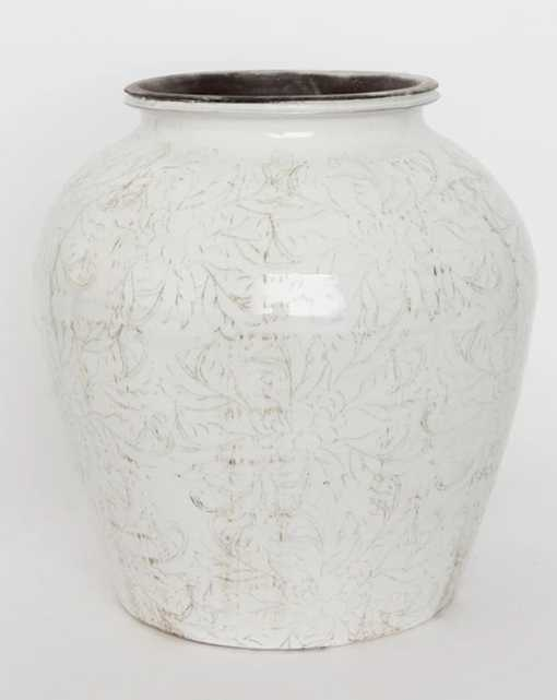 DELICATE FLORALS VASE - LARGE - McGee & Co.