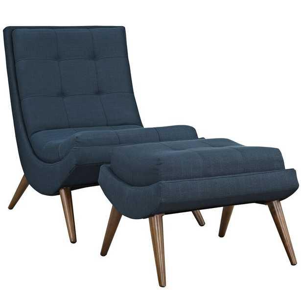 Bingaman Lounge Chair with Ottoman - AllModern