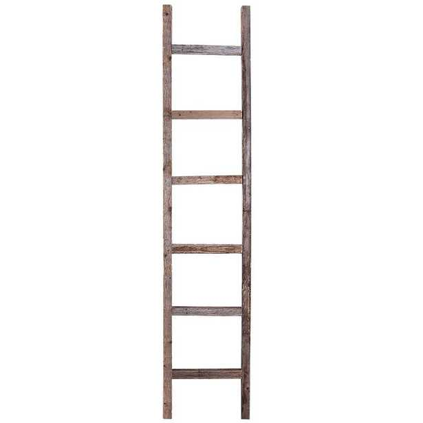 Rustic 6 ft Decorative Ladder - Wayfair