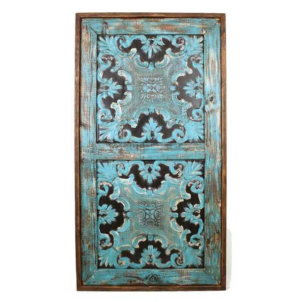 Turquoise Edgecombe Architectural Wall Decor - Wayfair