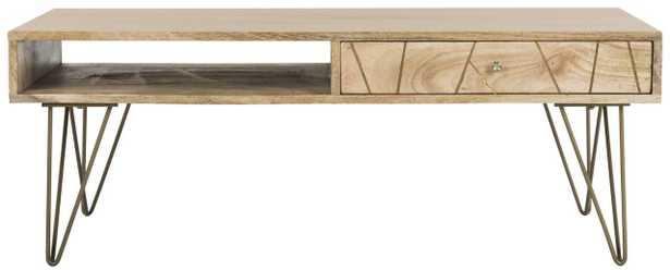 Marigold Coffee Table - Natural - Arlo Home - Arlo Home