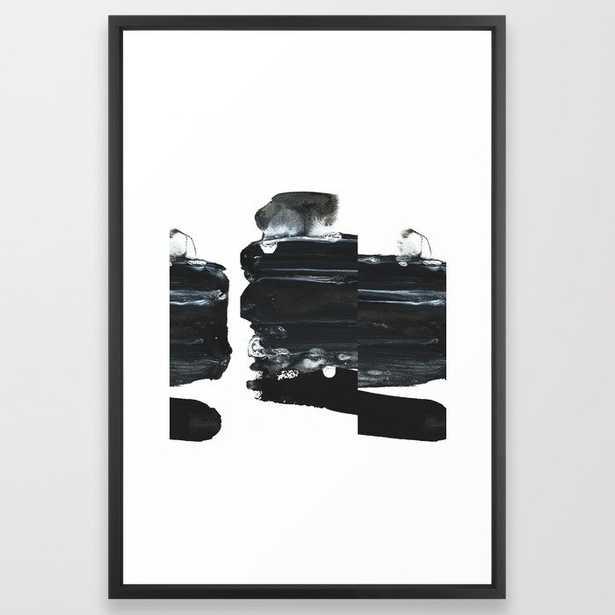 "TY02 Framed Art Print - Large Gallery 26""x38"" - Society6"