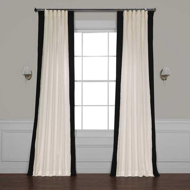Winsor Cotton Solid Room Darkening Rod Pocket Single Curtain Panel - Wayfair
