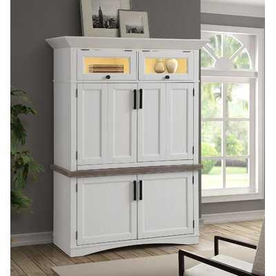 Solid Wood Armoire Desk - Wayfair