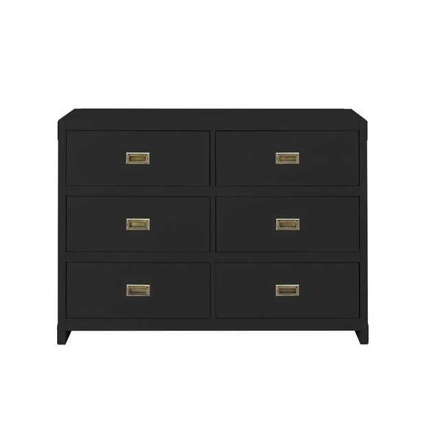 Delafuente 6 Drawer Double Dresser - Wayfair