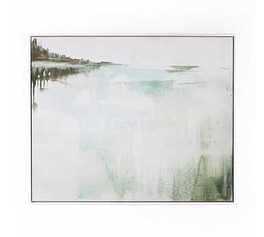 "Sanctuary V Framed Canvas, 24"" x 20"" - Pottery Barn"