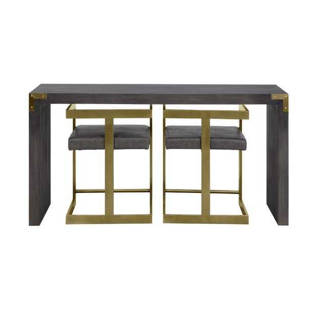 Lafon Console Table and Stool Set - Wayfair