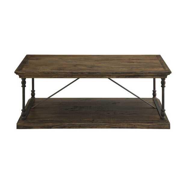Boyd Floor Shelf Coffee Table - Birch Lane