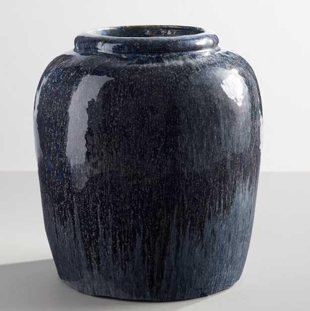 Rustic Blue Vase - Wayfair