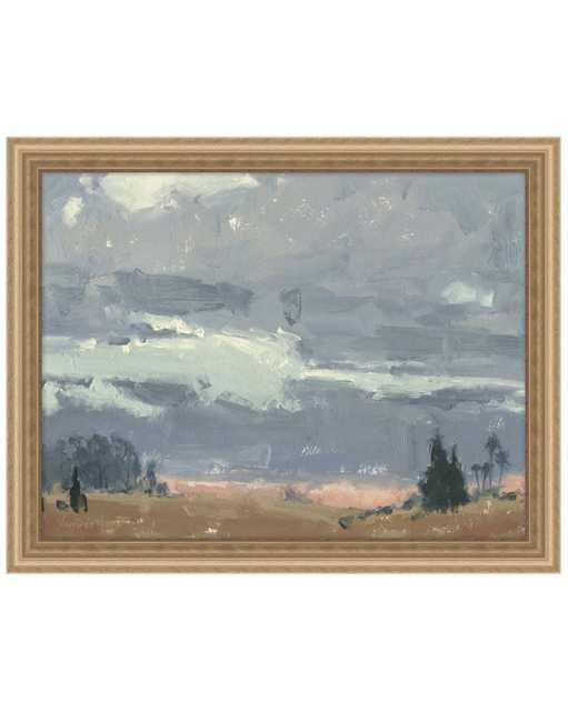 DECEMBER SKY Framed Art - McGee & Co.