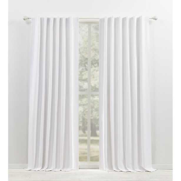 Waller Solid Blackout Thermal Rod Pocket Single Curtain Panel - Wayfair