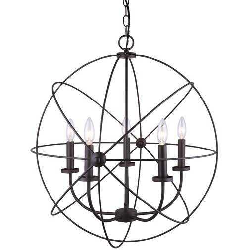 Waldron 5-Light Globe Chandelier - Wayfair