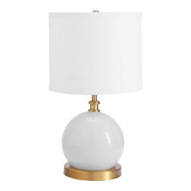 Mini Tilda Table Lamp, Gray - Pottery Barn Teen