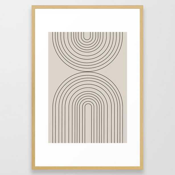 "Arch II Framed Art Print - 26""x38"" - Society6"