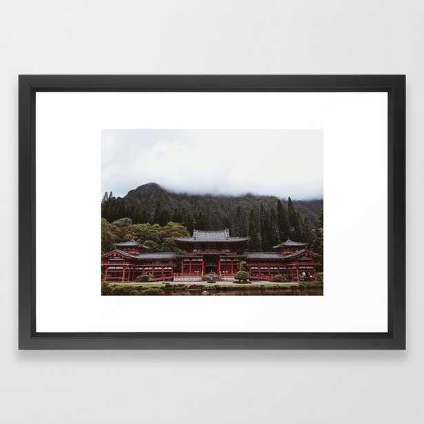 Byodo-In Temple Framed Art Print - Society6