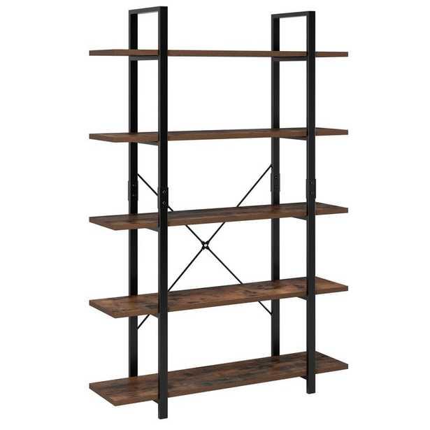 Ackles 69.7'' H x 47.2'' W Metal Standard Bookcase - Wayfair