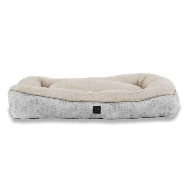 Nicole Miller Modern Marble Dog Bolster Bed - Wayfair