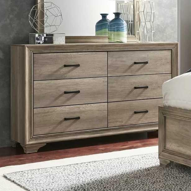 Payne 6 Drawer Double Dresser - Wayfair
