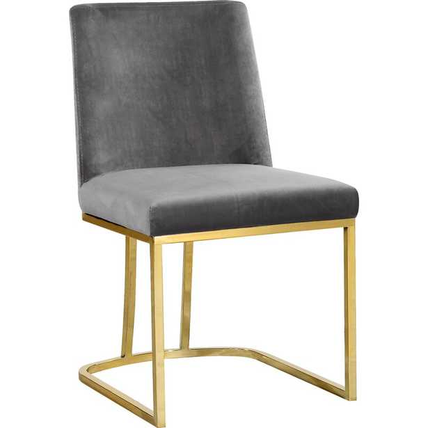 Gray Noah Upholstered Side Chair - Wayfair