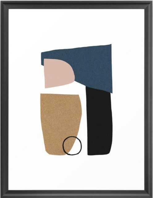 Bergen Framed Art Print - Society6