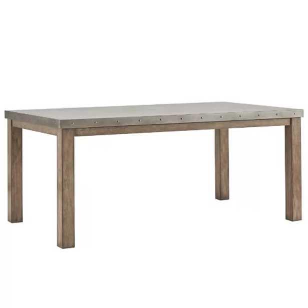 Stainless Steel Top Dining Table - Wayfair