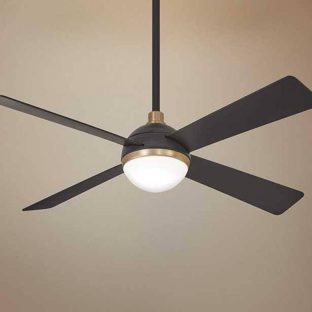 "54"" Minka Aire Orb Brushed Carbon LED Ceiling Fan - Lamps Plus"