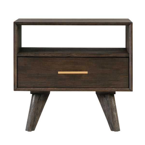 Loft Wooden Nightstand - Maren Home