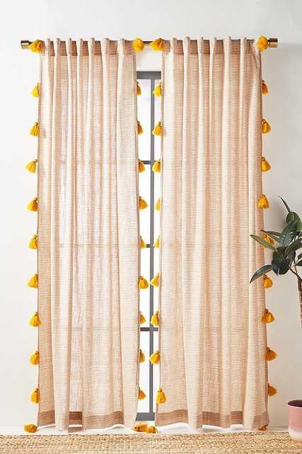"Mindra Curtain - 96"" x 50"" - Anthropologie"