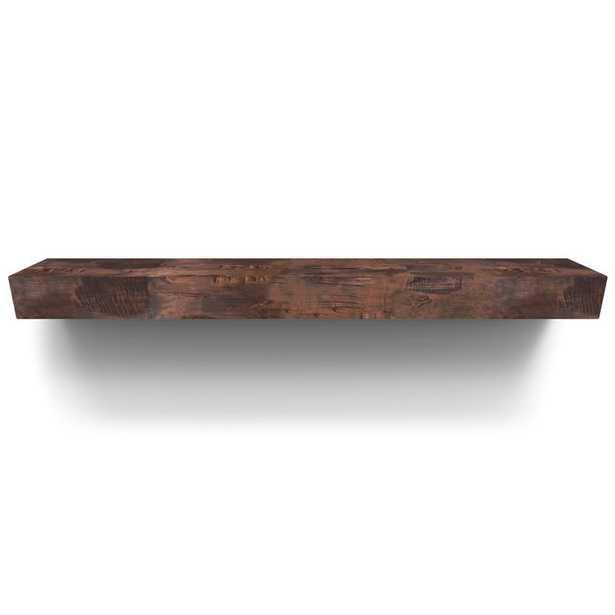 """Smith Fireplace Mantel Shelf 72"""" - Wayfair"""