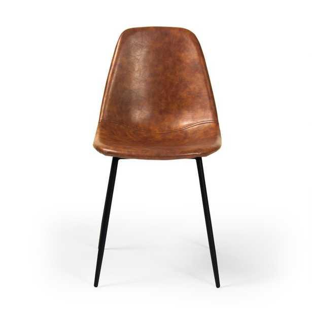 Connor Upholstered Dining Chair - Honey (Set of 2) - AllModern