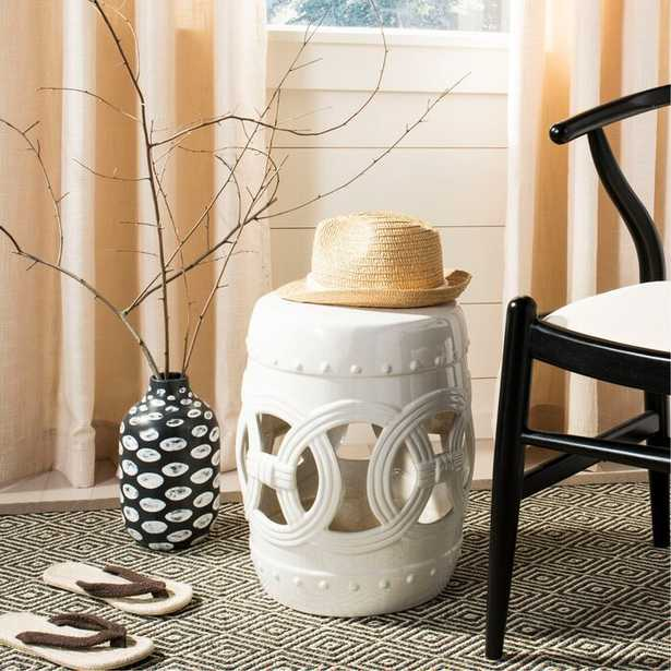 Holbrook Ceramic Garden Stool - Wayfair
