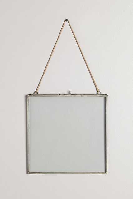 """Viteri Hanging Frame - Light Gray 10"""" x 10"""" - Anthropologie"""
