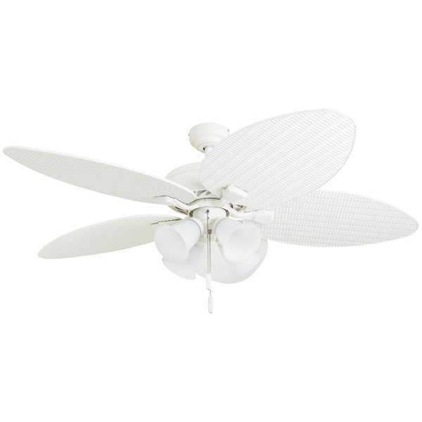 "52"" Mccall Tropical 5 Blade LED Ceiling Fan - Wayfair"