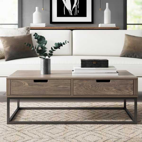 Jerri Coffee Table With Storage - Wayfair