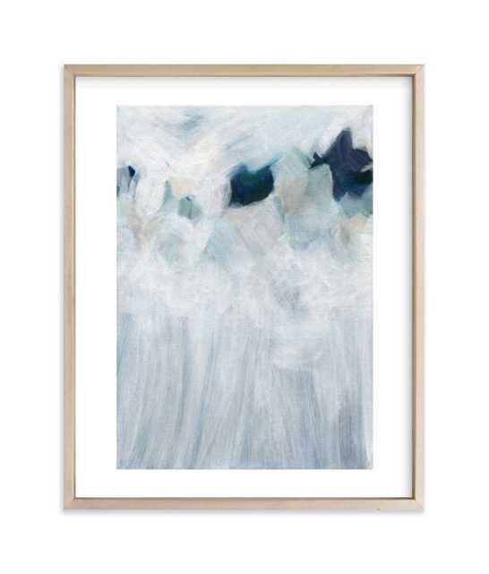 anemone, 8x10, Matte Brass Frame w/ White Border - Minted