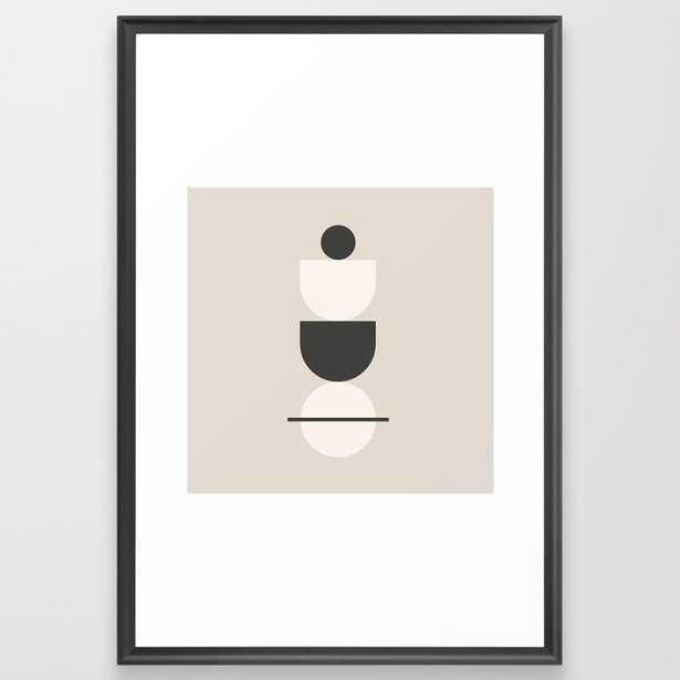 handstand Framed Art Print - Society6