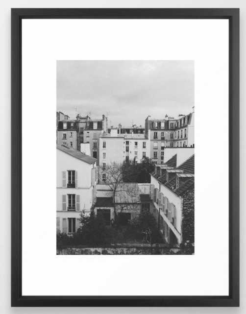 Paris _ Photography Framed Art Print - Society6
