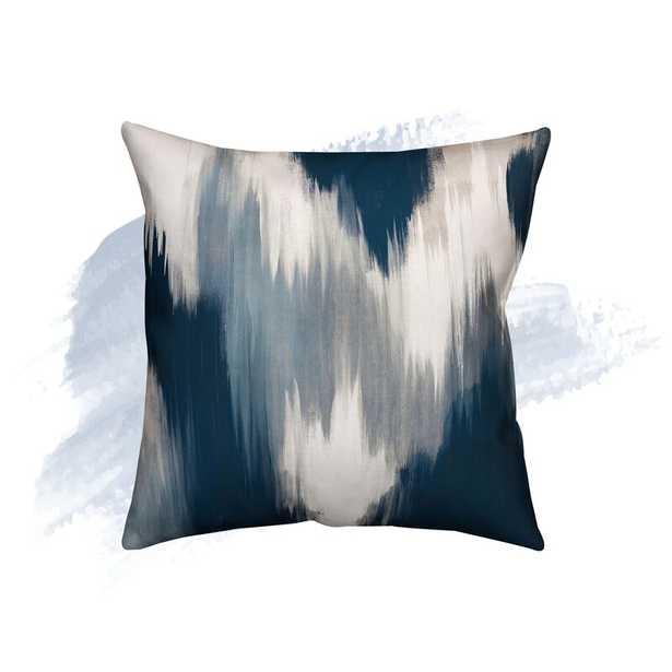 "Orlando Square Pillow Cover & Insert, Blue, 18"" x 18"" - Wayfair"